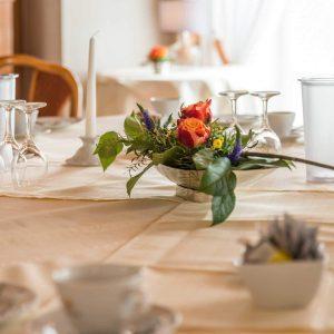 Hotel Restaurant Hessischer Hof Bad Karlshafen - Tischgesteck