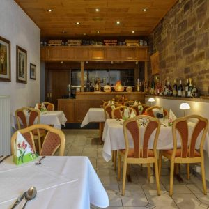 Restaurant Hessischer Hof Bad Karlshafen - Gedeckte Tische
