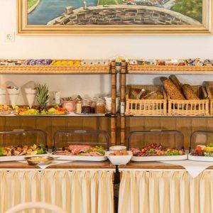 Hotel Restaurant Hessischer Hof Bad Karlshafen - Frühstücksbuffet
